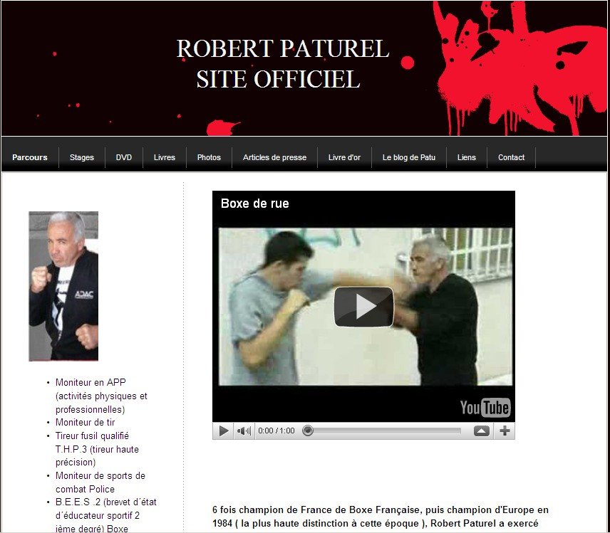 Site Robert Paturel